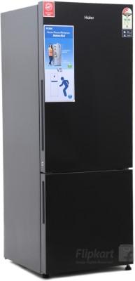 haier glass door mini fridge. haier 345 l frost free double door refrigerator (hrb -3654pkg-r) glass mini fridge