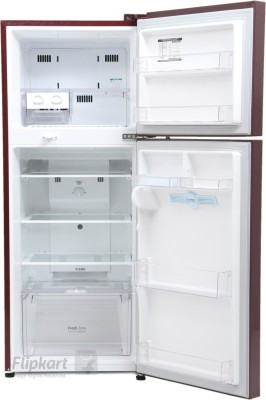 unusual refrigerator lg double door. Lg Gl M302rpzl 285 Ltr Double Door Refrigerator At Best Litres 2017  The 100 Unusual Image Collections