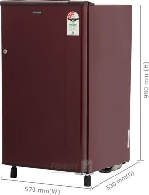 sansui 150 l direct cool single door sh163bbrfda