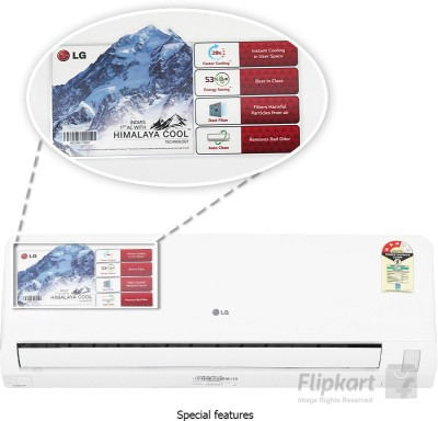 lg 1 ton 3 star split ac white lsa3np3a price in india
