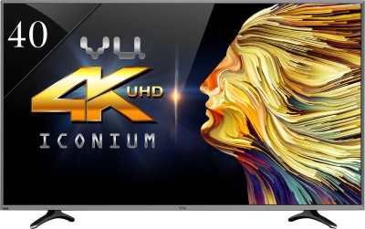 cc26f630e5d Vu 40 Inch Ultra HD (4K) Smart LED TV (LED 40k16) Price in India ...