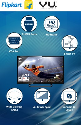 Vu 32 Inch HD Ready Smart LED TV (32S7545) Price in India