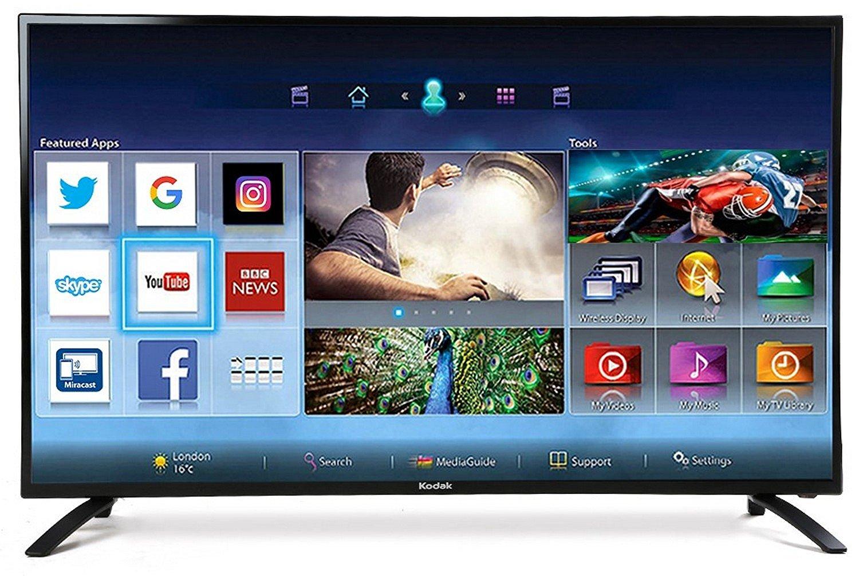 e497395f6 Kodak 50 Inches Full HD Smart LED TV (50FHDXSMART) Price in India ...