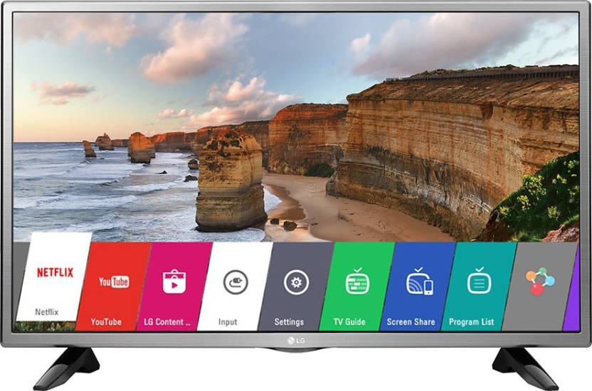 f71a44da8cb3 LG 32 Inch HD Ready Smart LED TV (32LH576D) Price in India, Specifications  and Reviews | Buysmaart