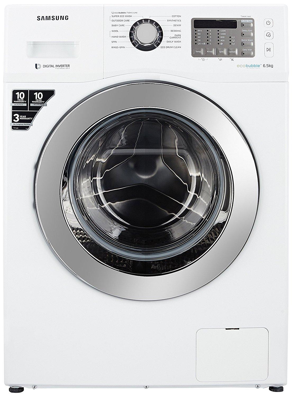 Samsung 6 5 kg Fully Automatic Front Load Washing Machine (WF652U2SHWQ)