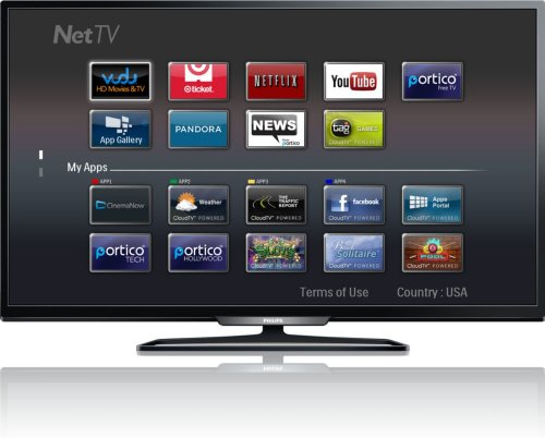 25f62c79a Philips 40 Inch Full HD LED Smart TV (40PFL4909%2FF7) Price in USA ...